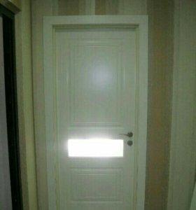 Входные Двери,откосы.Гипсокартон