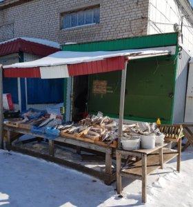 Торговая будка с местом