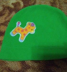 Однослойная флисовая шапка