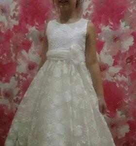 Платье на выпускной р128-134