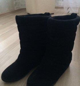 Зимние ботинки дутики