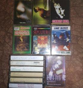 Аудиокассеты рок