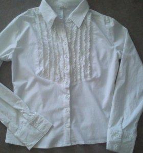 Блузка белая, 42