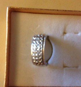 Перстень мужской серебряный