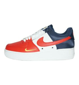 Доставим Nike Air Force 1 '07 Blue Red Кожа 36-40р