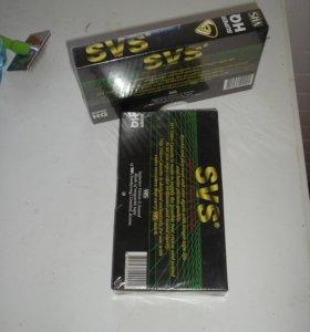 Видеокассеты VHS в упаковке