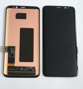 Дисплеи Samsung S8, S8+