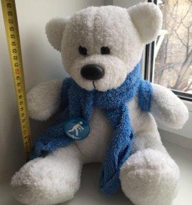 Мягкая игрушка медведь с рюкзаком