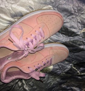 Nike Air Force I розовые замшевые🌸
