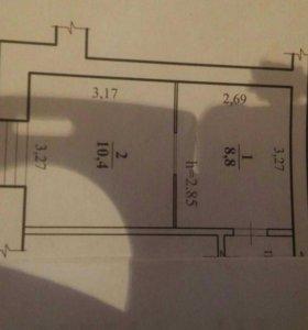 Комната, 19.2 м²