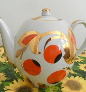 Чайник большой Дулево