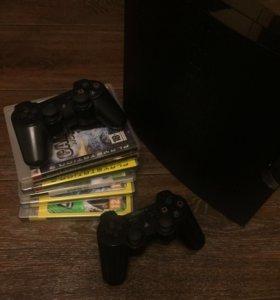 PlayStation 3 (+ 6 дисков)
