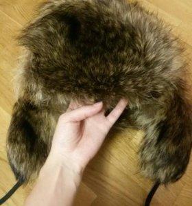Меховая шапка из песца