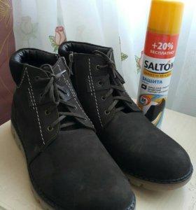 Зимние мужские ботинки (новые)