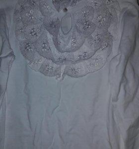 Белая кофта для девочки