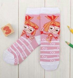 Носки детские фиксики на 8 марта новые