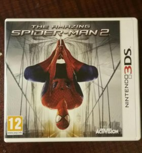 Новый человек-паук для приставки nintendo 3DS