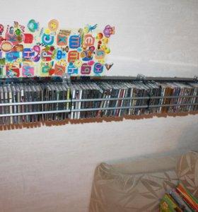 Подставка этажерка для дисков