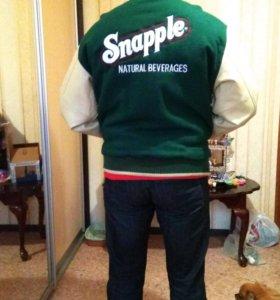 Куртка бомбер клубная американец