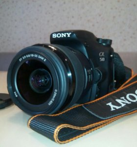 Фотоаппарат SONY SLT-A58K