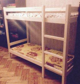 двухъярусная кровать 90/200 стандарт