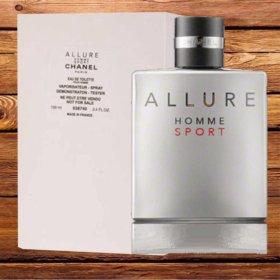 Новый тестер Chanel Allure Homme Sport