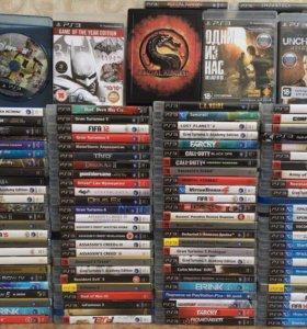 Игры Sony PS3 в отличном состоянии!