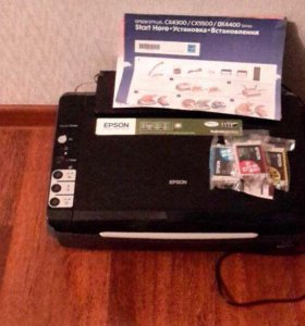МФУ Принтер/сканер/копир Epson Stylus CX4300