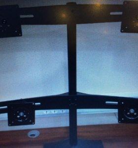 Подставка кронштейн для 4 мониторов Ergotron