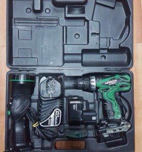 Шуруповёрт Hitachi DS 12DVF3