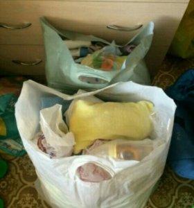 Вещи детские пакетом