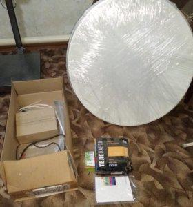 Комплект спутникового телевидения телекарта evo-01