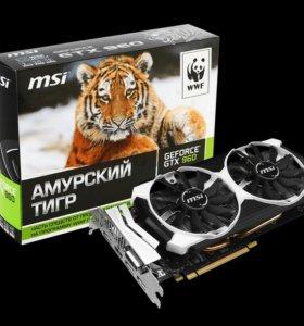 Видеокарта GeForce GTX 960 / 4 Gb