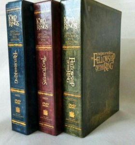 Lord of the rings extended dvd collectors edition