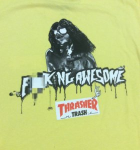 THRASHER x F***ING AWESOME
