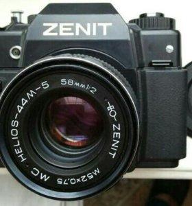 🔥Фотоаппарат ZENIT-122 MC HELIOS-44M-5