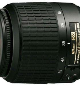 Объектив Nikon AF-S DX nikkor 18-55 mm f/3.5-5.6G