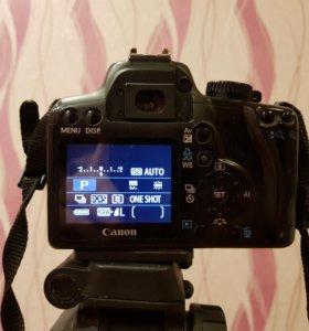 Сanon EOS 1000D и Canon F1.8 II