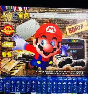 Приставка Dendy Mario (60 Игр)