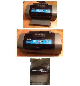 Принтер Epson Stylus C67