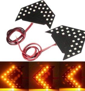 LED повторители поворота стрелка.