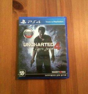 Uncharted 4 PS4 Продажа/Обмен