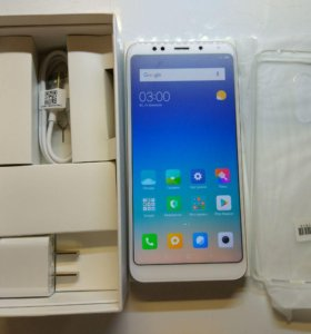 Xiaomi Redmi 5 Plus 3GB+32GB gold + Nillkin flip