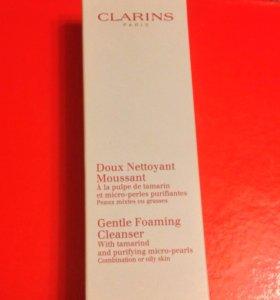 Clarins средство для умывания и снятия макияжа