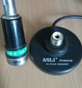 Автомобильная антенна Anli AW-6 PL VHF