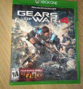 Игра на xbox one . Gear of war 4