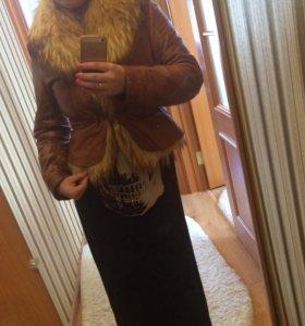 Куртка натуральная лиса