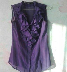 Фиолетовая блузка инсити