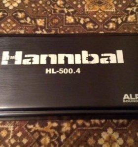 Усилитель 4 канальный Hannibal HL-500.4