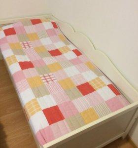 Кровать икея хенсвик